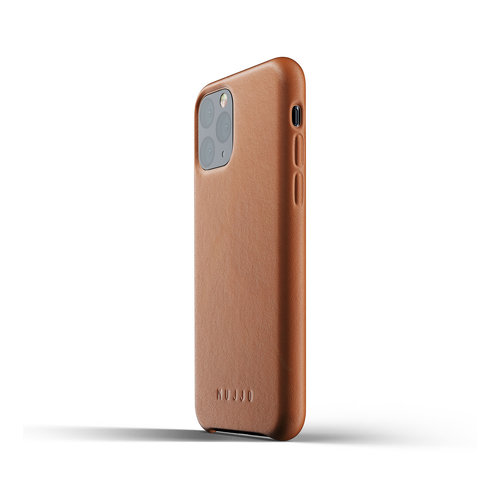 Mujjo Leather Case iPhone 11 Pro - Brown