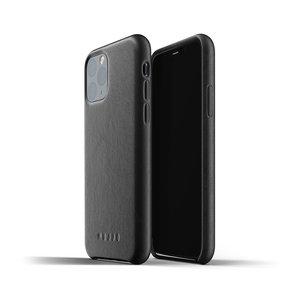 Mujjo Leren Hoesje iPhone 11 Pro - Zwart