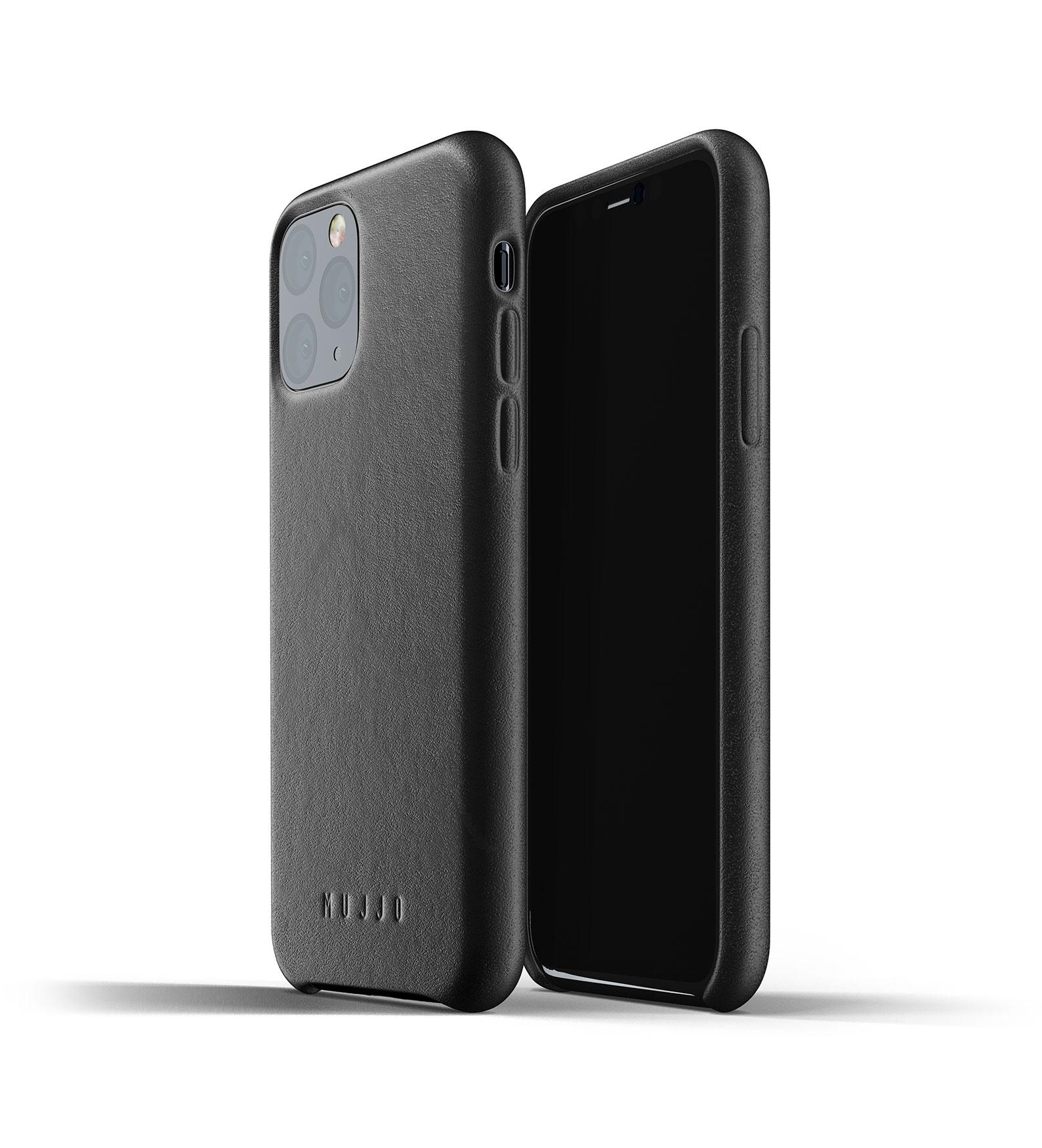 Leather Case iPhone 11 Pro - Black