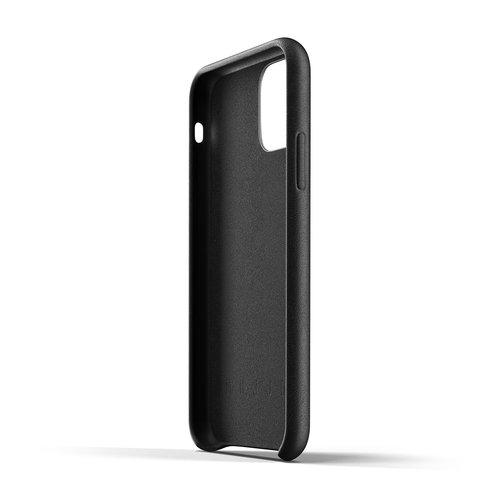 Mujjo Leather Case iPhone 11 Pro - Black