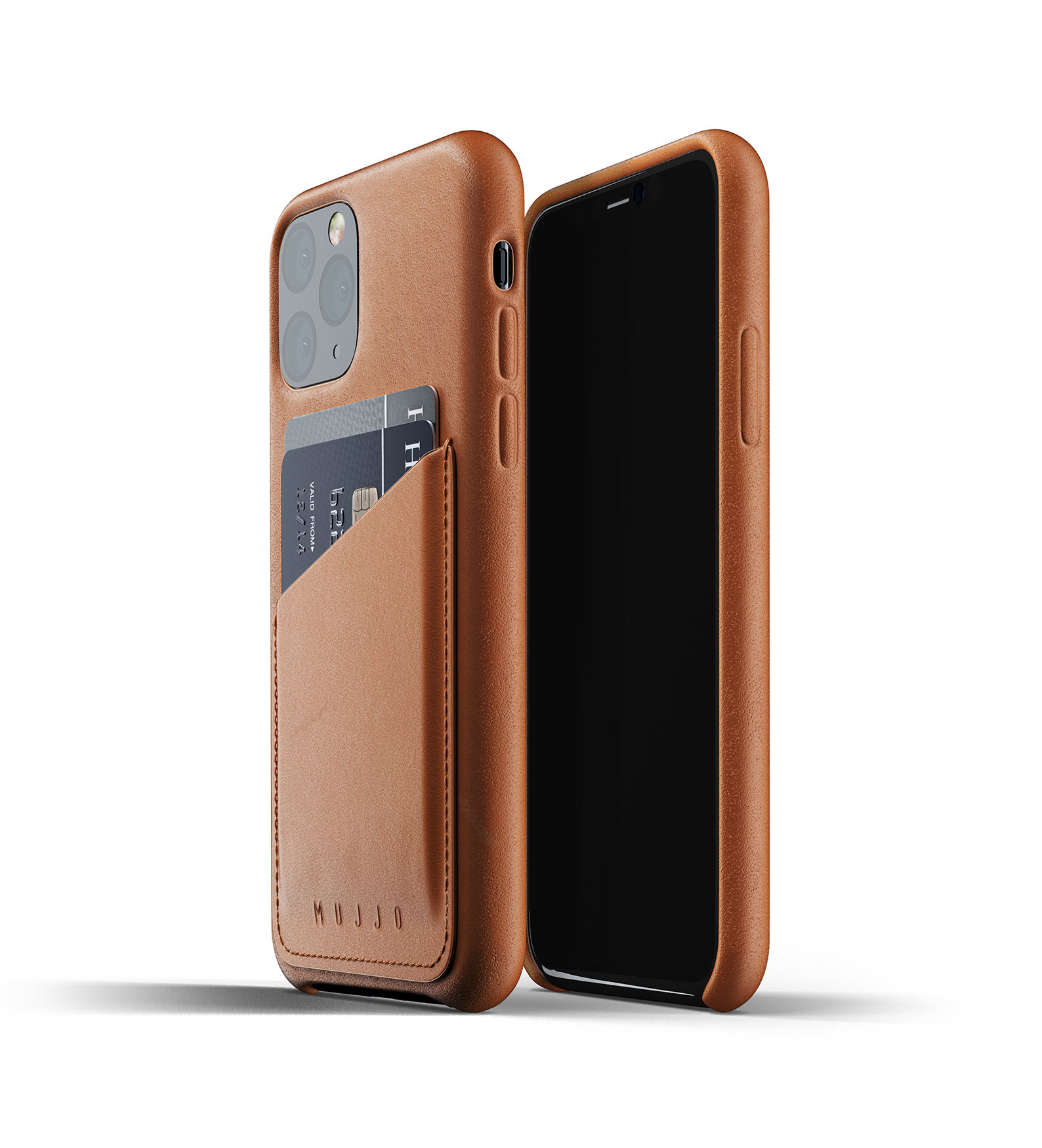 Leather Wallet iPhone 11 Pro - Brown