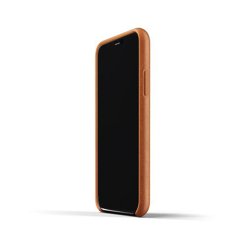 Mujjo Leren Wallet iPhone 11 Pro - Bruin