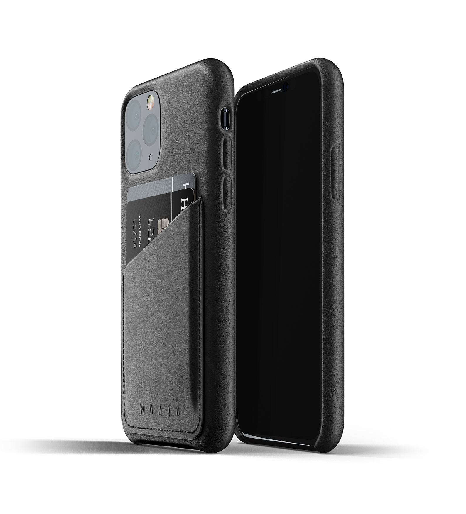 Leather Wallet iPhone 11 Pro - Black