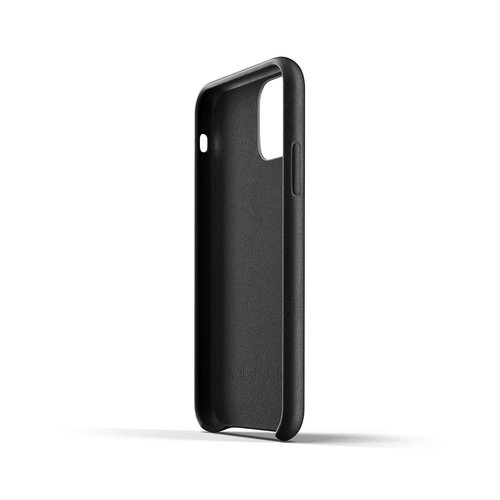 Mujjo Leather Wallet iPhone 11 Pro - Black