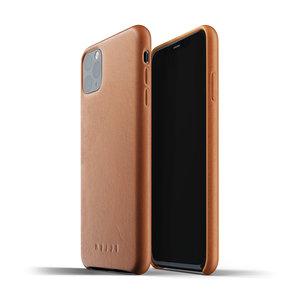 Mujjo Leren Hoesje iPhone 11 Max - Bruin
