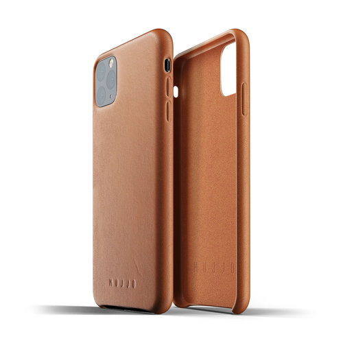 Mujjo Leather Case iPhone 11 Max - Brown