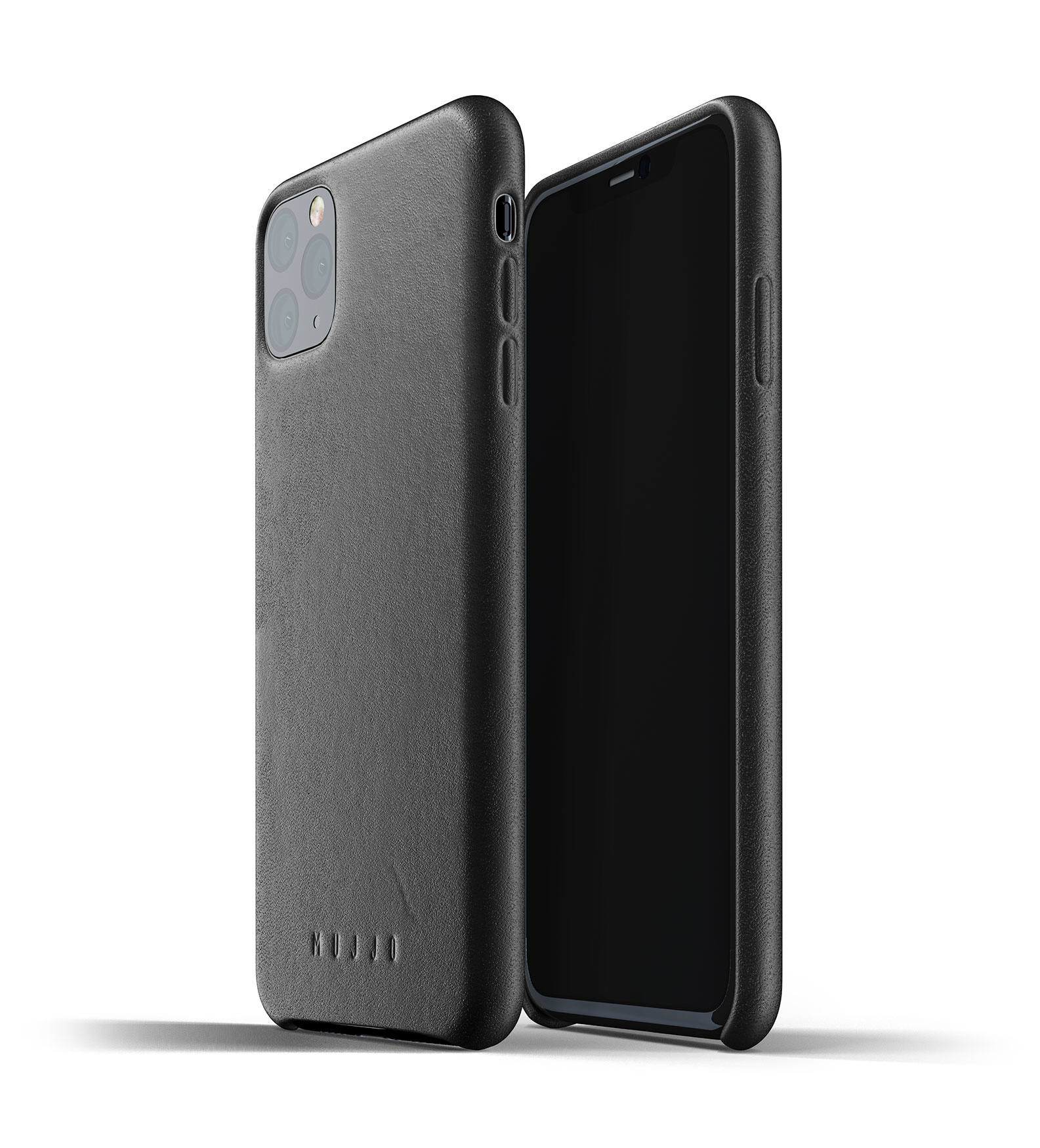 Leather Case iPhone 11 Max - Black