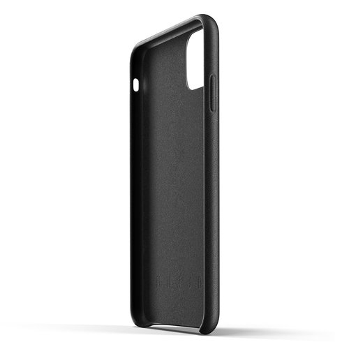 Mujjo Leather Case iPhone 11 Max - Black