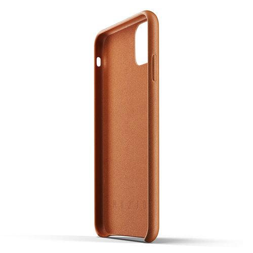 Mujjo Leren Wallet iPhone 11 Max - Bruin