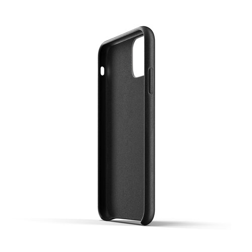 Mujjo Leather Case iPhone 11r - Black