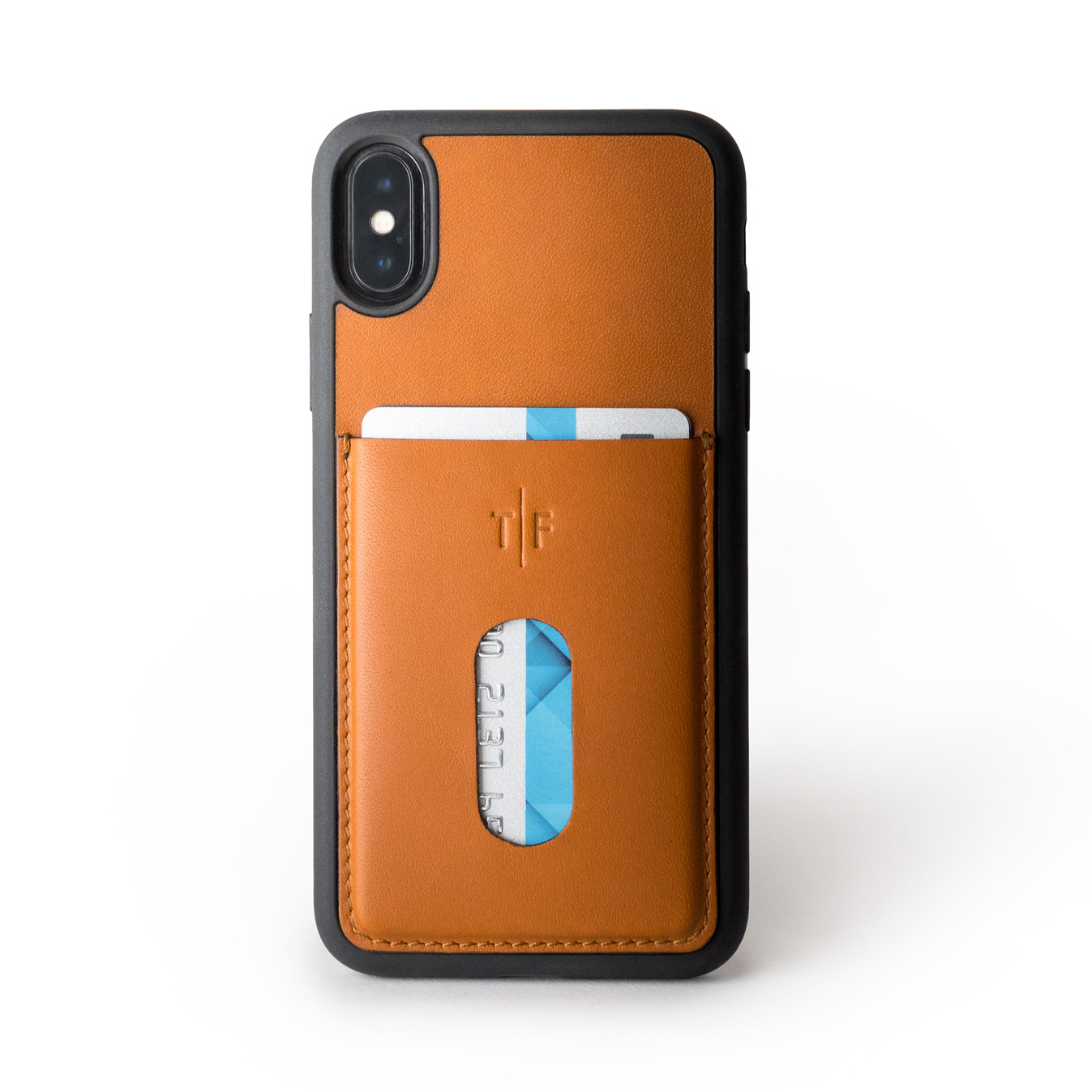Leather Case iPhone X - Rum