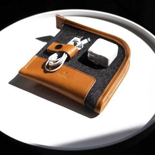 Cocones Compact Case - Brown