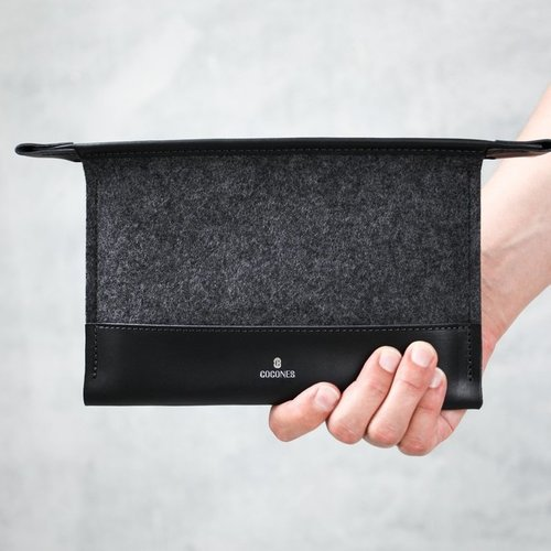Cocones Mini Folio Case - Zwart