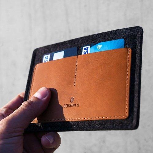 Cocones Passport Wallet - Brown