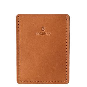 Cocones Card Wallet - Bruin