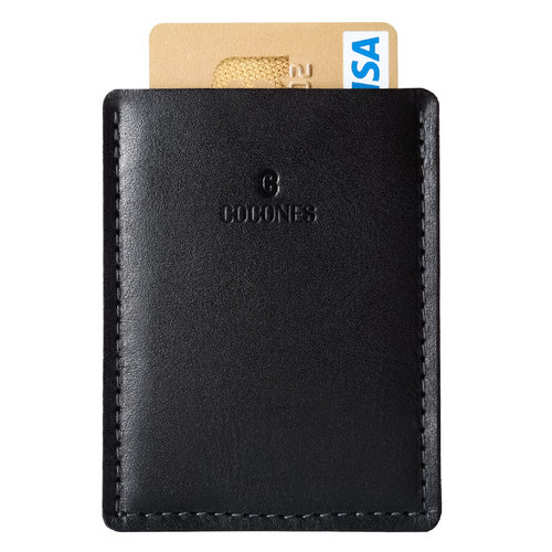 Cocones Card Wallet - Black