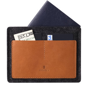 Cocones Passport Wallet - Brown