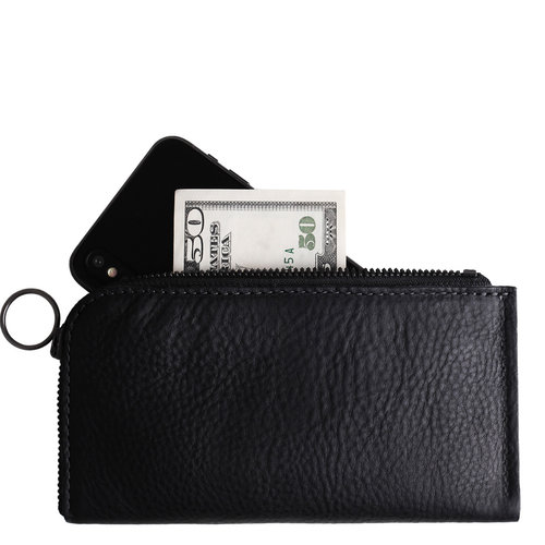 Cocones iPhone Zip Wallet - Black