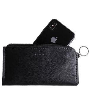 Cocones iPhone Zip Wallet - Zwart