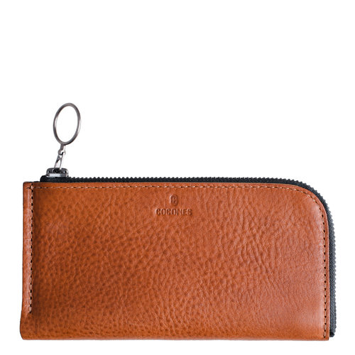 Cocones iPhone Zip Wallet - Brown