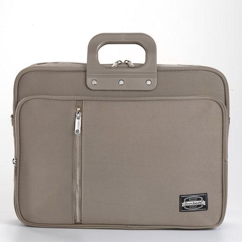 Bombata 24H Gabardina Briefcase - Taupe