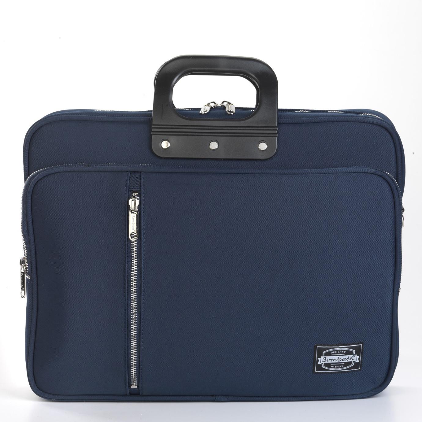 24H Gabardina Briefcase - Blue