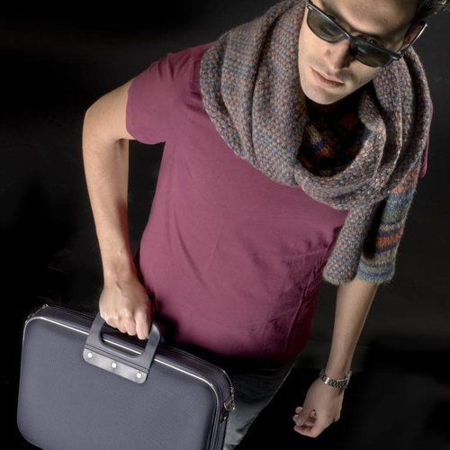 Bombata Business Laptoptas - Zwart