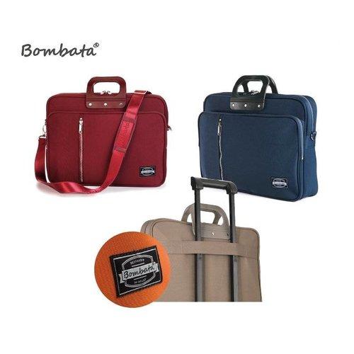Bombata 24H Gabardina Briefcase - Blue