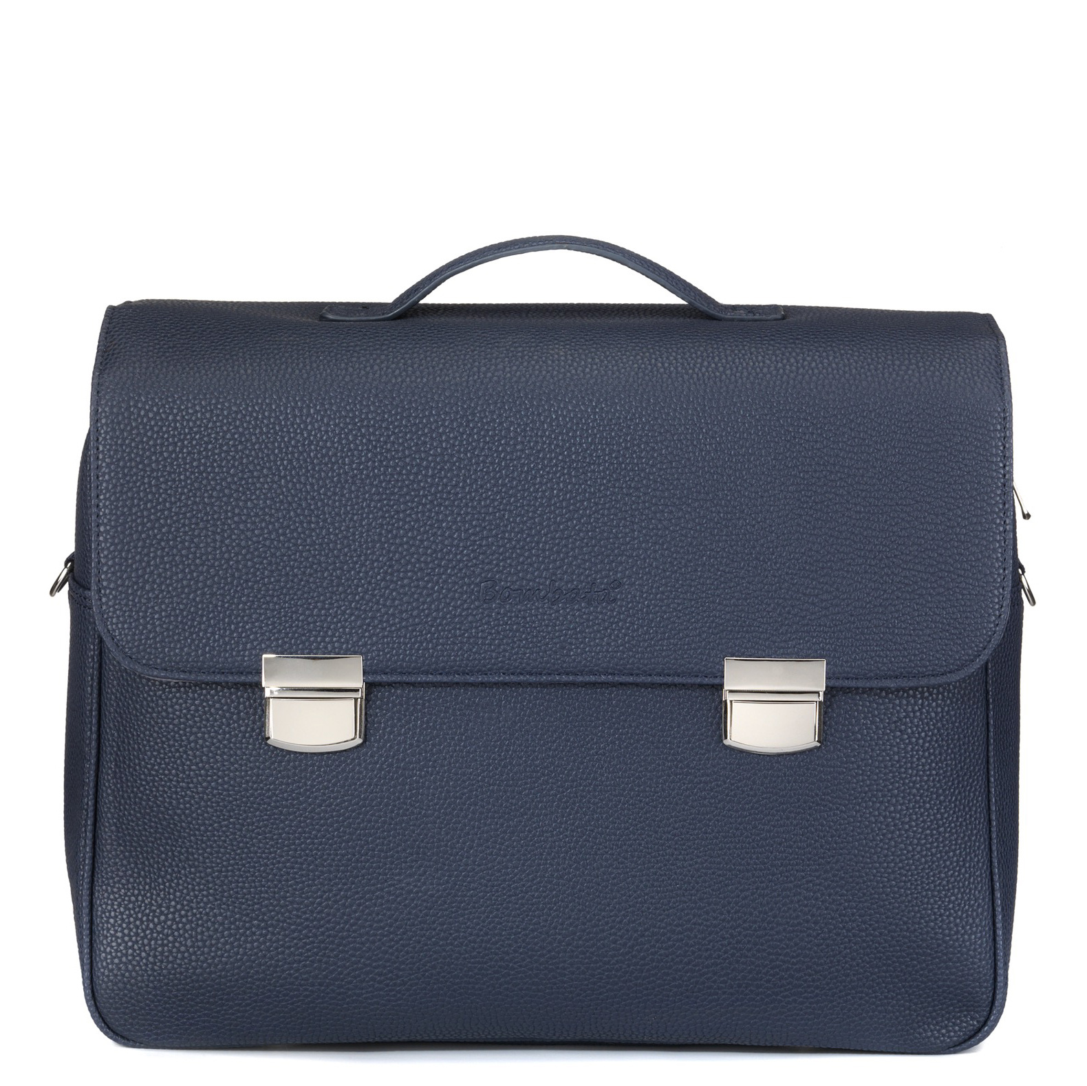 24H Madrid Laptoptas - Blauw