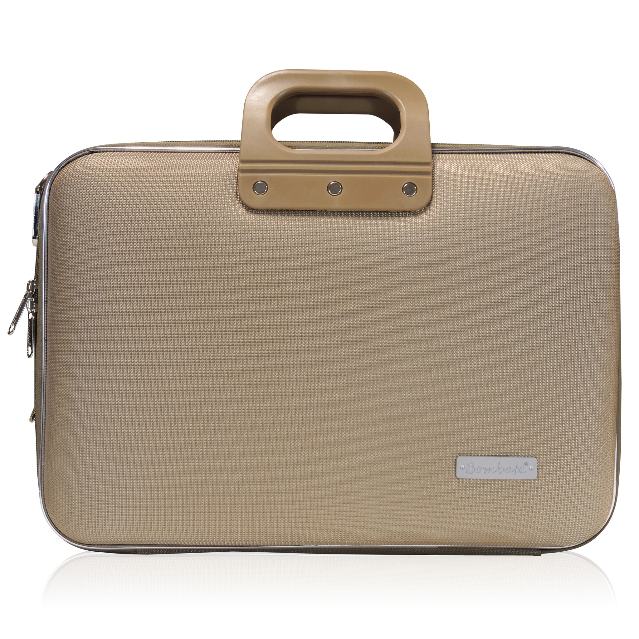 Business Briefcase - Taupe