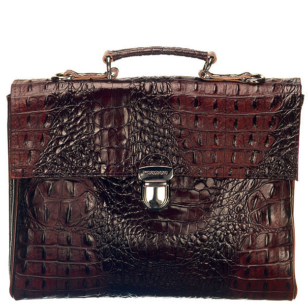 Walker - Dark Brown Croco