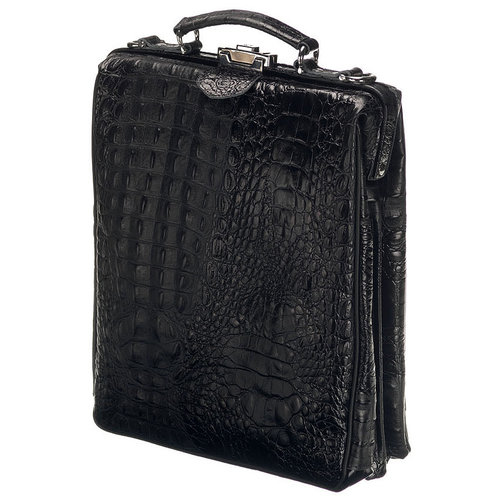 Mutsaers On the Bag - Black Croco
