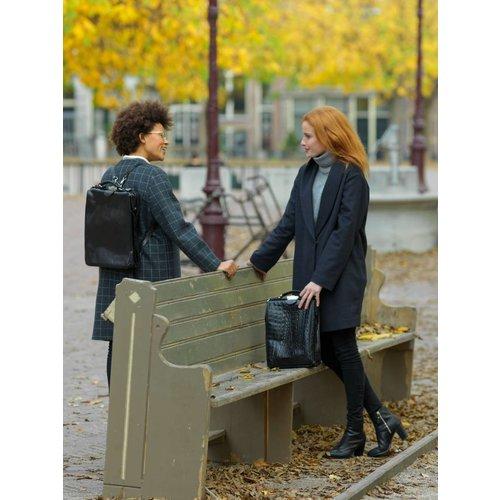 Mutsaers On the Bag - Donkerbruin