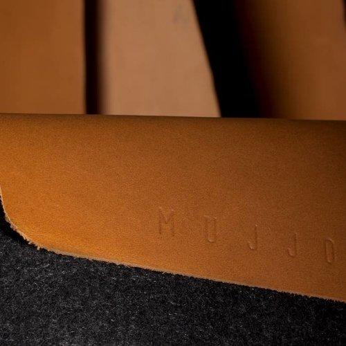 """Mujjo 13"""" MacBook Pro & Air Sleeve - Brown"""