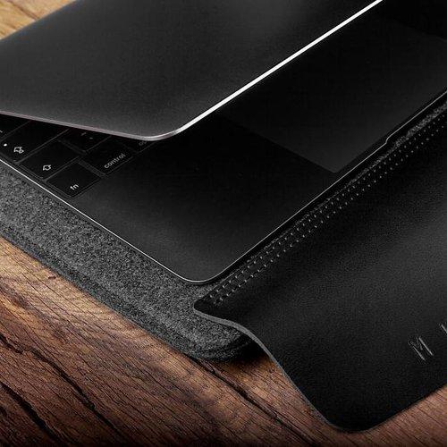 "Mujjo 12"" MacBook Sleeve - Black"