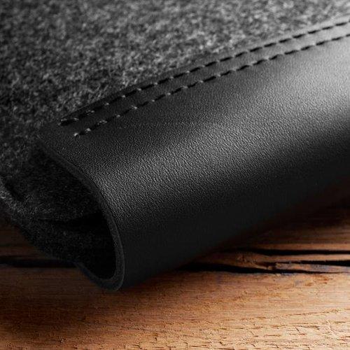 "Mujjo 12 ""MacBook Sleeve - Black"
