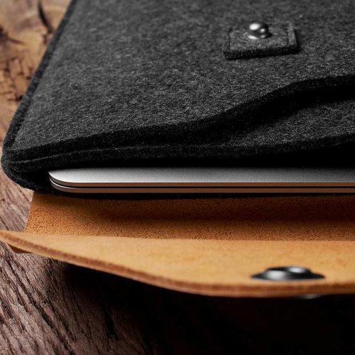 """Mujjo 12"""" MacBook Sleeve - Brown"""
