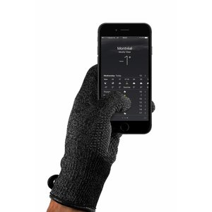 Mujjo Single-Layered Touchscreen Handschoenen - Zwart
