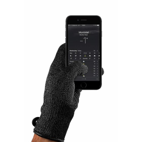 Mujjo Single-Layered Touchscreen Gloves - Black