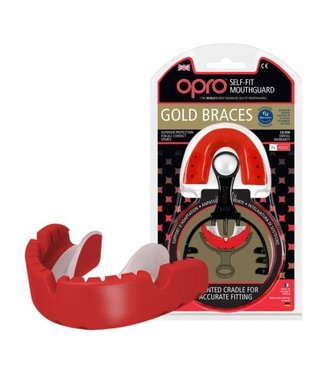 OPRO Rugby Opro GOLD mouthguard - Braces