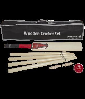 RAM Cricket Cricket set -Senior- compleet met stumps en bal