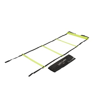 RAM Cricket Training loopladder - Plat - 8 meter - in Tas