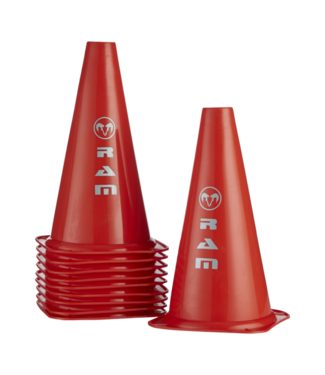 RAM Cricket Markeer Driehoeken - Pylonen - 10 stuks in tas