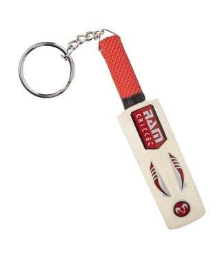 RAM Cricket Cricket Bat Keyring - Goodie - van echt hout