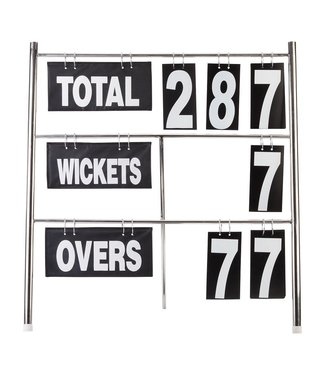 RAM Cricket Verplaatsbaar Cricket Scoreboard - 80x85x10 cm