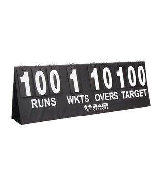 RAM Cricket Draagbaar Cricket Scoreboard - 130x44 cm - in draagtas