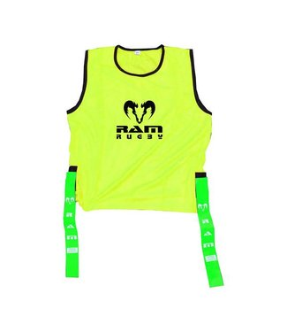RAM Rugby 10x Tag Rugby Bibs - XL, M of S