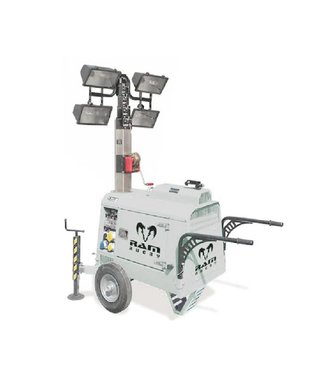 RAM Light Tower mit Generator