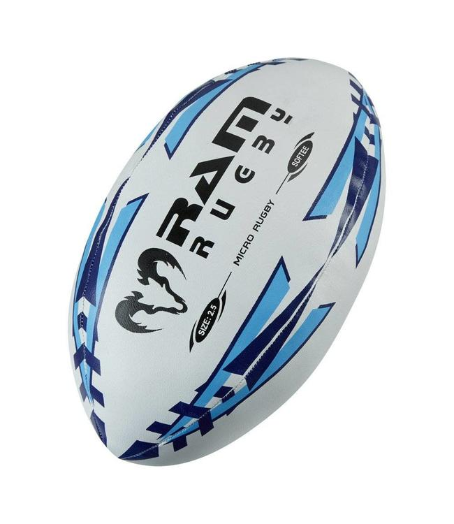 RAM Rugby Micro Softee Rugbyball (Größe 2,5)