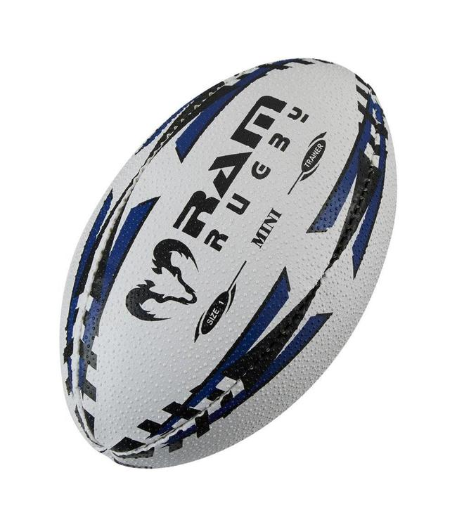 RAM Rugby Mini Rugbybal 3d grip. Maat 1